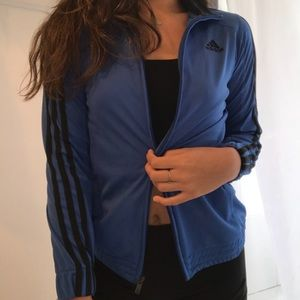 adidas Jackets & Coats - ADIDAS blue jacket